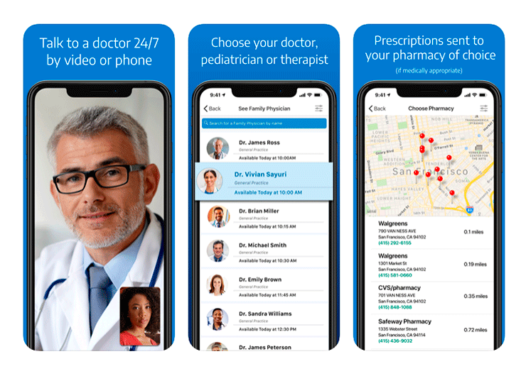 online doctor app development