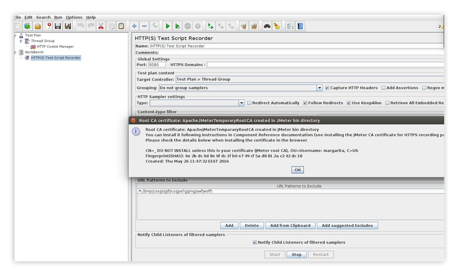 pic.3. Created Root CA certificate