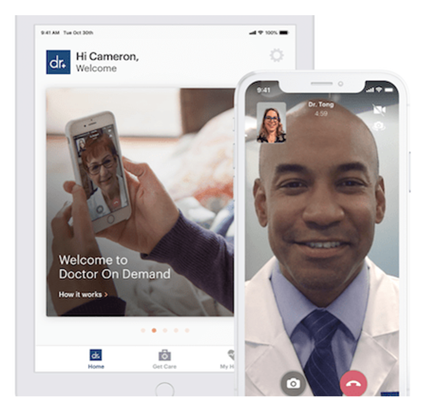 Doctor-on-demand app