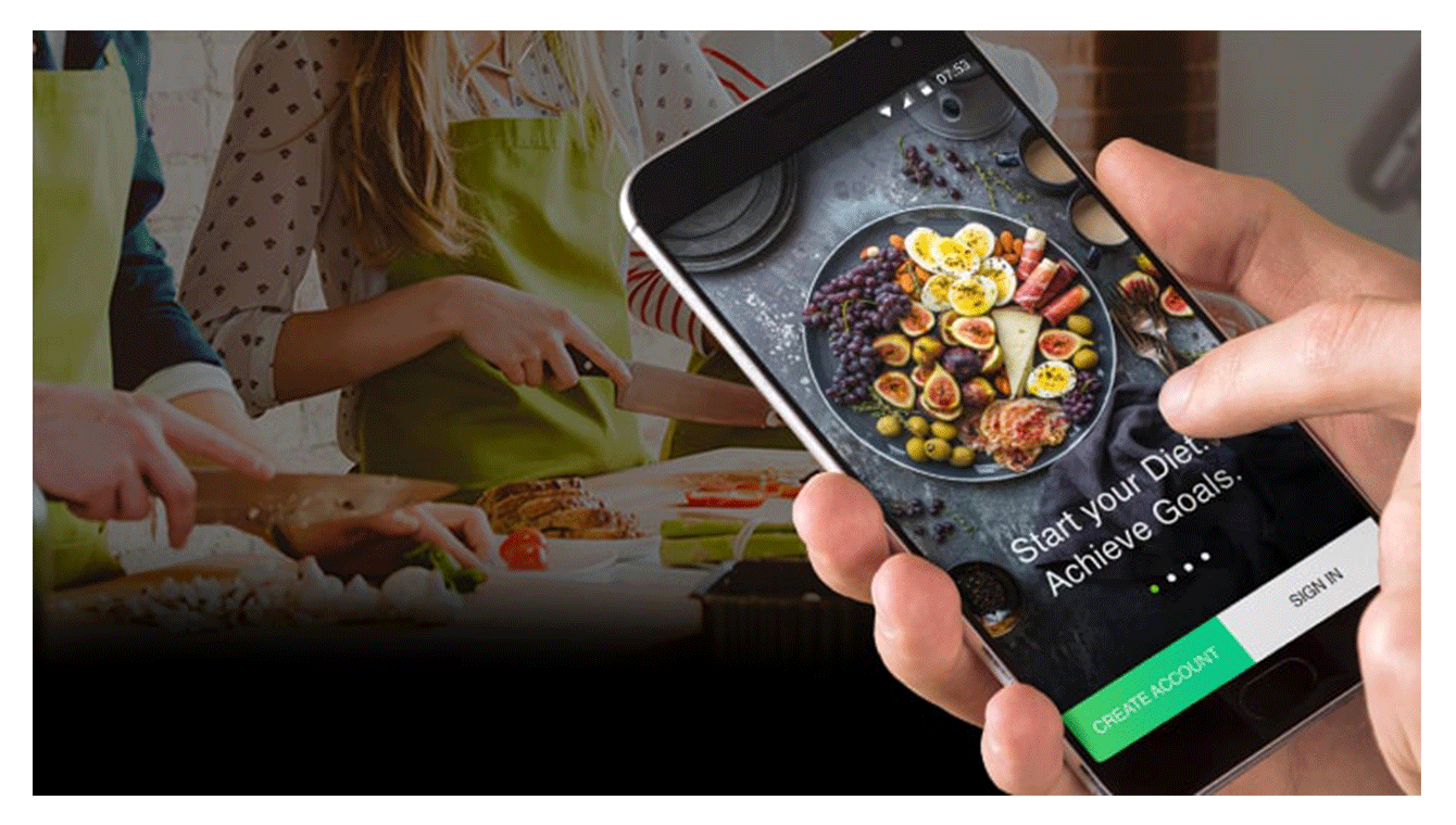 diet and nutrition app development