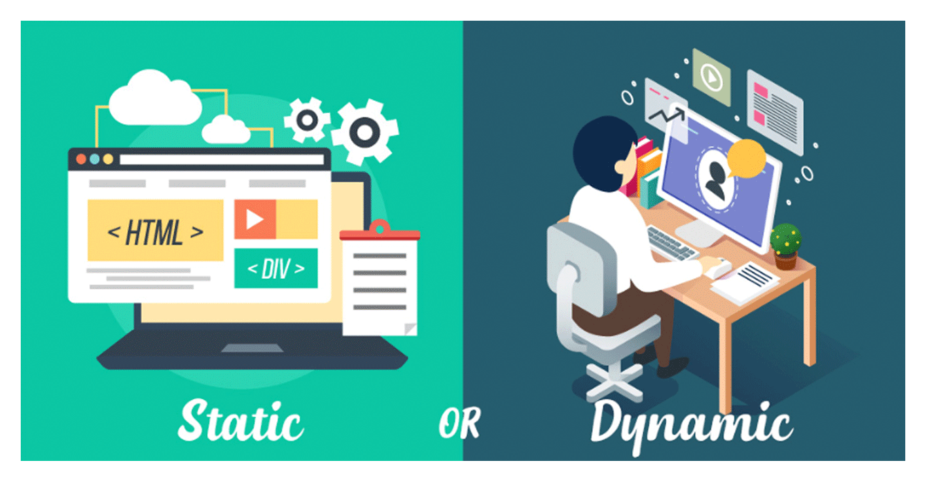 comparison of dynamic and static websites
