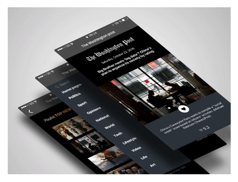 Django website screenshot