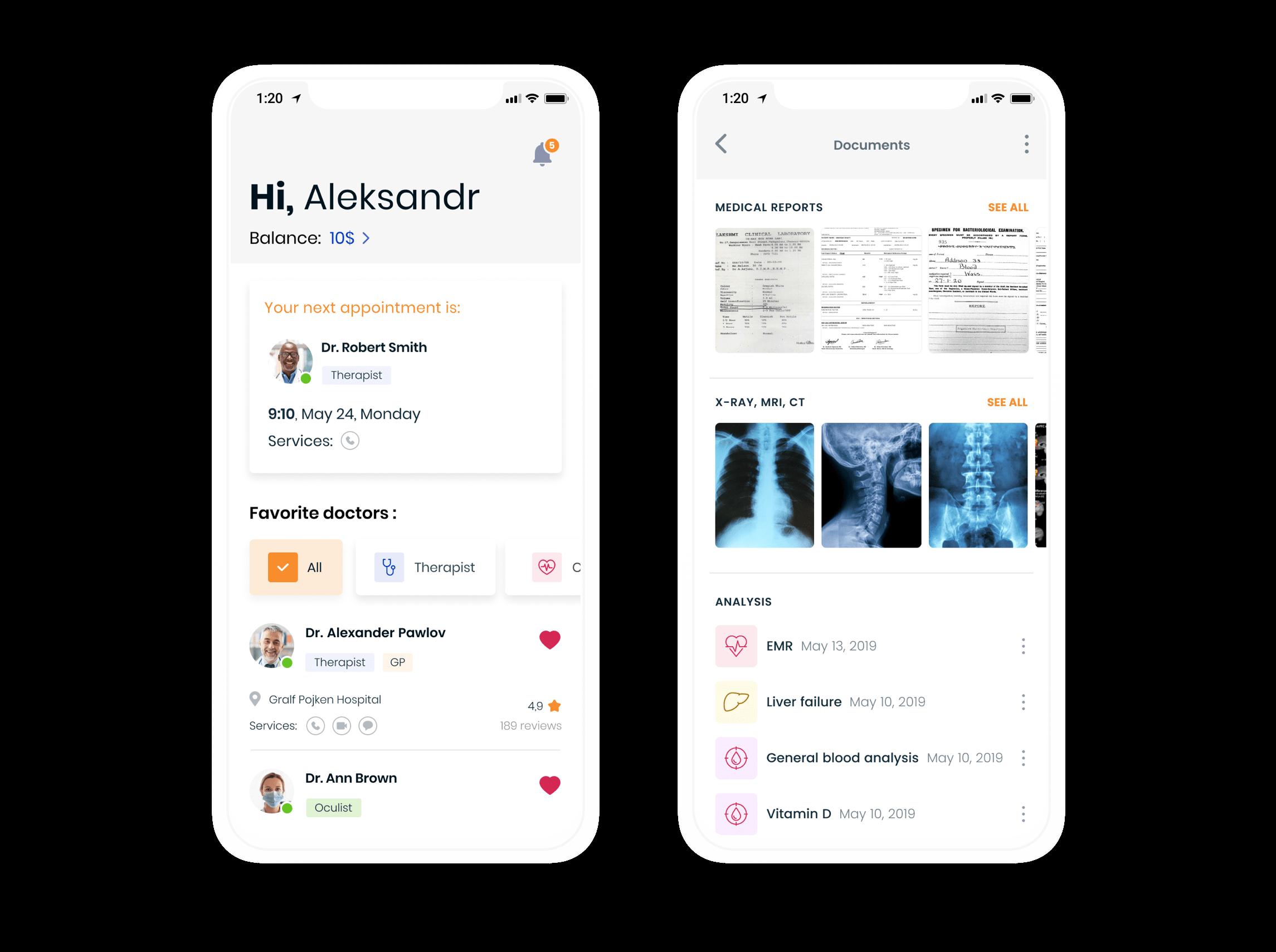 Doctor on demand app development