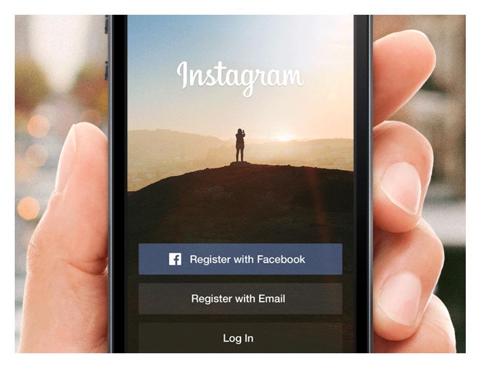 Django website. Instagram app screenshot