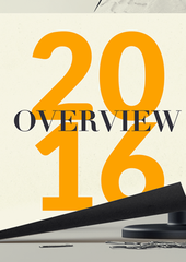 Overview of 2016 Year